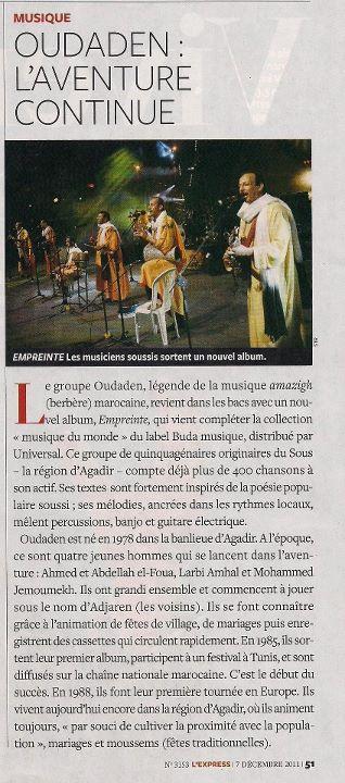 Oudaden : L'aventure continue (Express 7 décembre 2011) dans DIVERS article-express-7decembre-2011